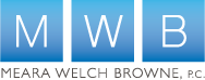 Meara Welch Browne,  P.C. Logo